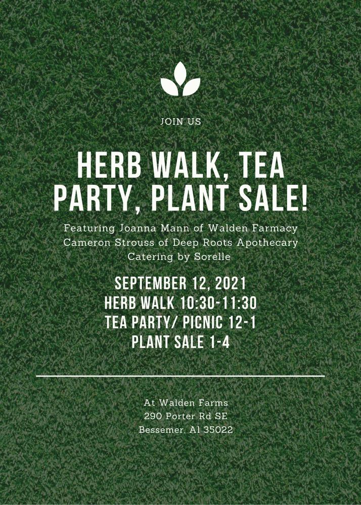 Herbwalk & Tea Party Picnic